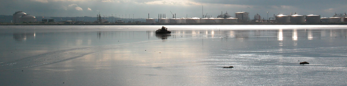 Hovercraft-at-grangemouth