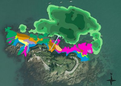 Prelimminary ecological appraisal of marine areas