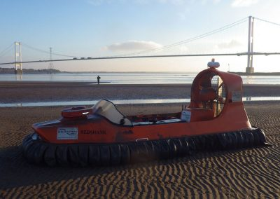 Hovercrafting Severn Estuary