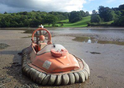 Hovercrafting Dart Estuary
